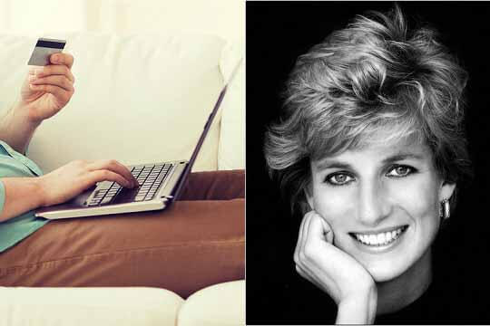 Online banking and princess Diana